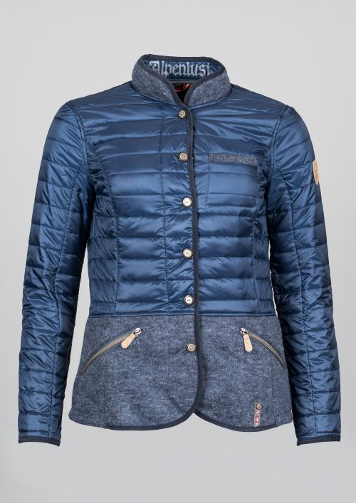 Northland Luise Woll-Steppjacke